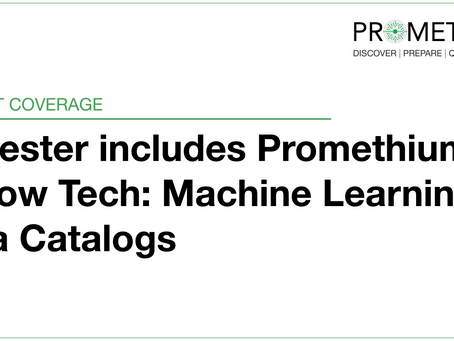 Forrester includes Promethium in Now Tech: Machine Learning Data Catalogs