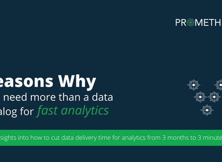 5 Reasons Why You Need More Than a Data Catalog For Fast Data Analytics