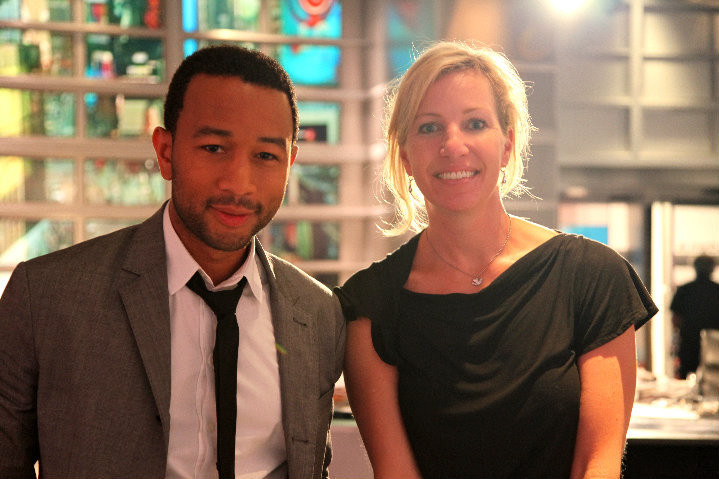 John Legend and Kelly Amis