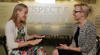 Interviewing Wendy Kopp