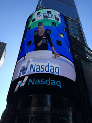 Ringing the Nasdaq bell with React to Film