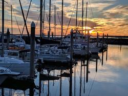 Sunset, Pensacola Bay