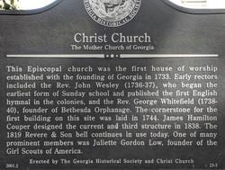 John Wesley in Georgia