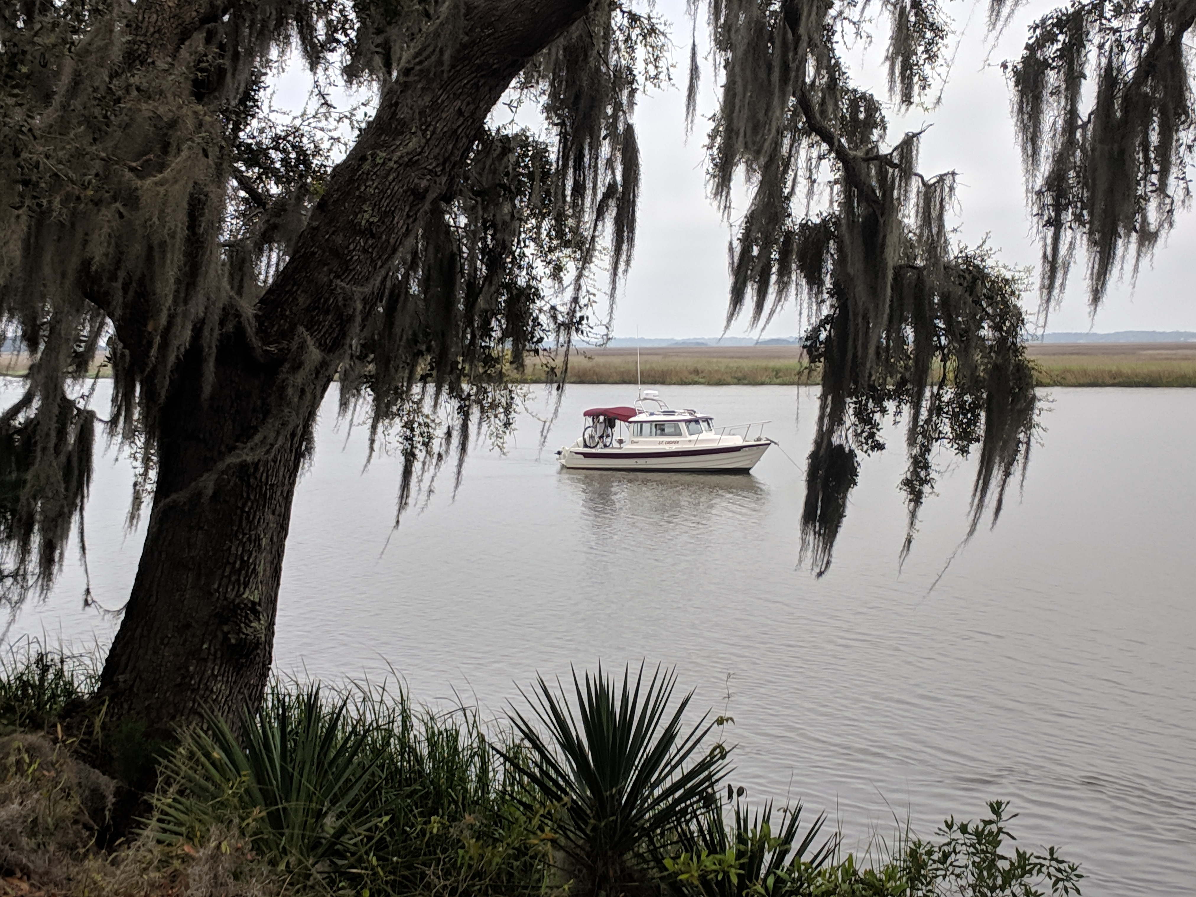 Frederica River Anchorage