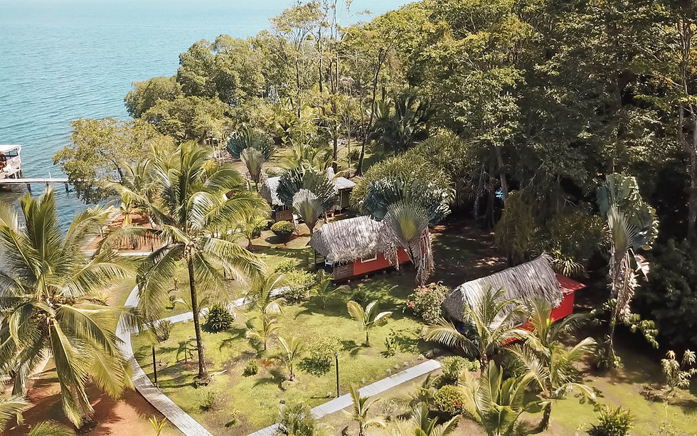 Ecolodges in Dolphin Blue Paradise