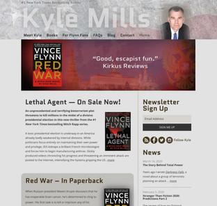 Kyle Mills website