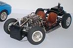 Ferrari 500 Mondial Scratch-built, 1:43-Scale, Super-detailed Chassis Model