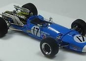 1:43-Scale, Super-detailed, Hand-built Model of the Matra MS11, 1968 Dutch Grand Prix