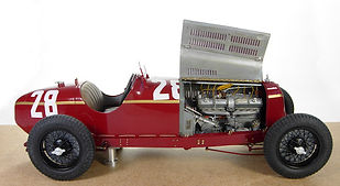 1:12-Scale, Super-detailed, Hand-built Model of the Alfa Romeo 8C 2300 'Monza', 1932 Monaco Grand Prix by Pierre Laugier, LP Creation