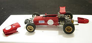 1:43-Scale, Super-detailed, Hand-built Models of the Ferrari Dino 166 F2 by Pierre Laugier, LP Creation