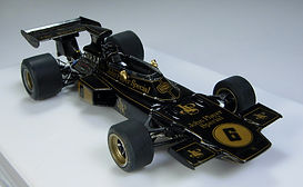1:43-Scale, Super-detailed, Hand-built Model of the Lotus Ford 72D, 1972 Italian Grand Prix by Pierre Laugier