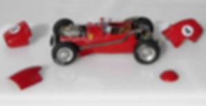 Ferrari Dino 246 F1 One-off, 1:43-Scale, Scratch-built Model