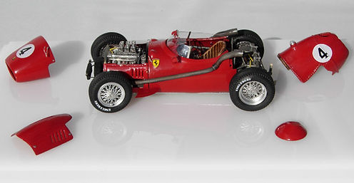 Ferrari Dino 246 F1 One-off, 1:43-Scale, Scratch-built Model