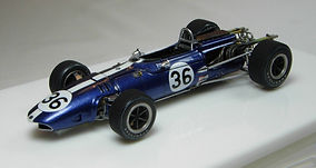 1:43-Scale, Super-detailed, Hand-built Model of the Eagle-Weslake, Winner Belgian Grand Prix 1967
