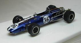 1:43-Scale, Super-detailed, Hand-built Model of the Eagle-Weslake, Winner Belgian Grand Prix 1967