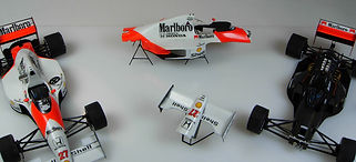 1:43-Scale, Super-detailed, Hand-built Models of the McLaren Honda MP4/5B by Pierre Laugier, LP Creation