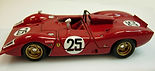 Ferrari 312 P Spyder Fine-detail, 1:43-Scale, Hand-built Model