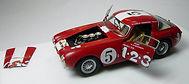 1:43-Scale, Super-detailed, Opening, Hand-built Model of the Ferrari 250 MM, Carrera Panamericana1953