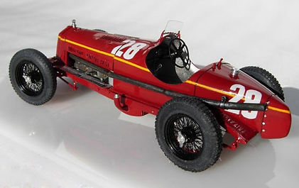Alfa Romeo 8C 2300 'Monza' Limited Edition, 1:43-Scale, Super-detailed, Fully-opening, Hand-built Model