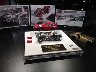 Pierre Laugier LP Creation Alfa Romeo 8C 2900B Retromobile