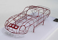 Hand-built, 1:43-Scale, 'Bodybuck' Model of the 1962 Ferrari 250 GTO