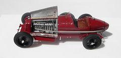 1:43-Scale, Super-detailed, Fully-opening, Hand-built Model of the Alfa Romeo 8C 2300 'Monza', Winner of the 1932 Targa Florio