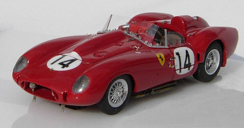 Ferrari 250 TR58 Fine-detail, 1:43-Scale, Hand-built Model