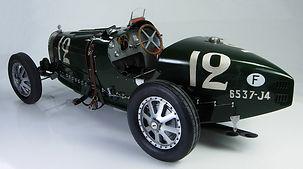 1:12-Scale, Super-detailed, Hand-built Model of the Bugatti Type 35B, 1929 Monaco Grand Prix by Pierre Laugier
