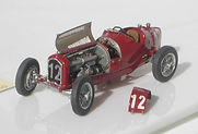 1:43-Scale, Super-detailed, Fully-opening, Hand-built Model of the Alfa Romeo P3,Winner of the1935 German Grand Prix