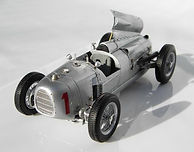 1:43-Scale, Super-detailed, Fully-opening, Hand-built Model of the Auto Union Type A, Winner of the 1934 German Grand Prix