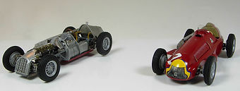 1:43-Scale, Super-detailed, Hand-built Models of the Alfa Romeo 159 Alfetta by Pierre Laugier, LP Creation