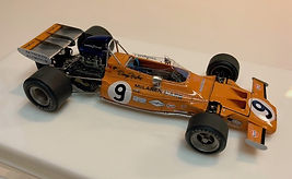 1:43-Scale, Super-detailed, Hand-built Model of the McLaren Ford M19A, 1971 CanadianGrand Prix
