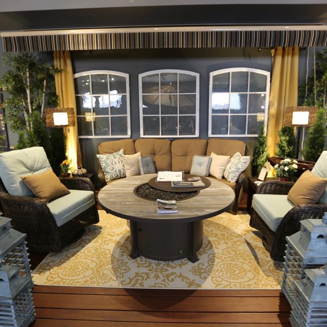 Patio Renaissance South Bay Curved Sectional Sofa Set
