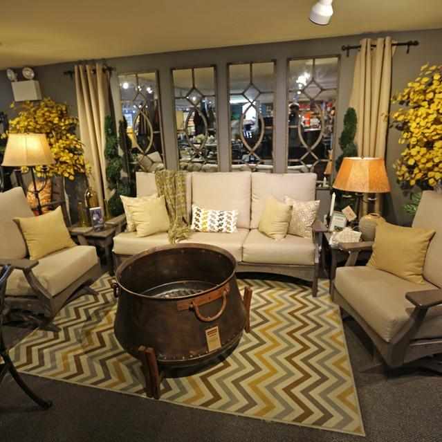 Breezesta Piedmont Deep Seating Sofa with Club Swivel Rockers