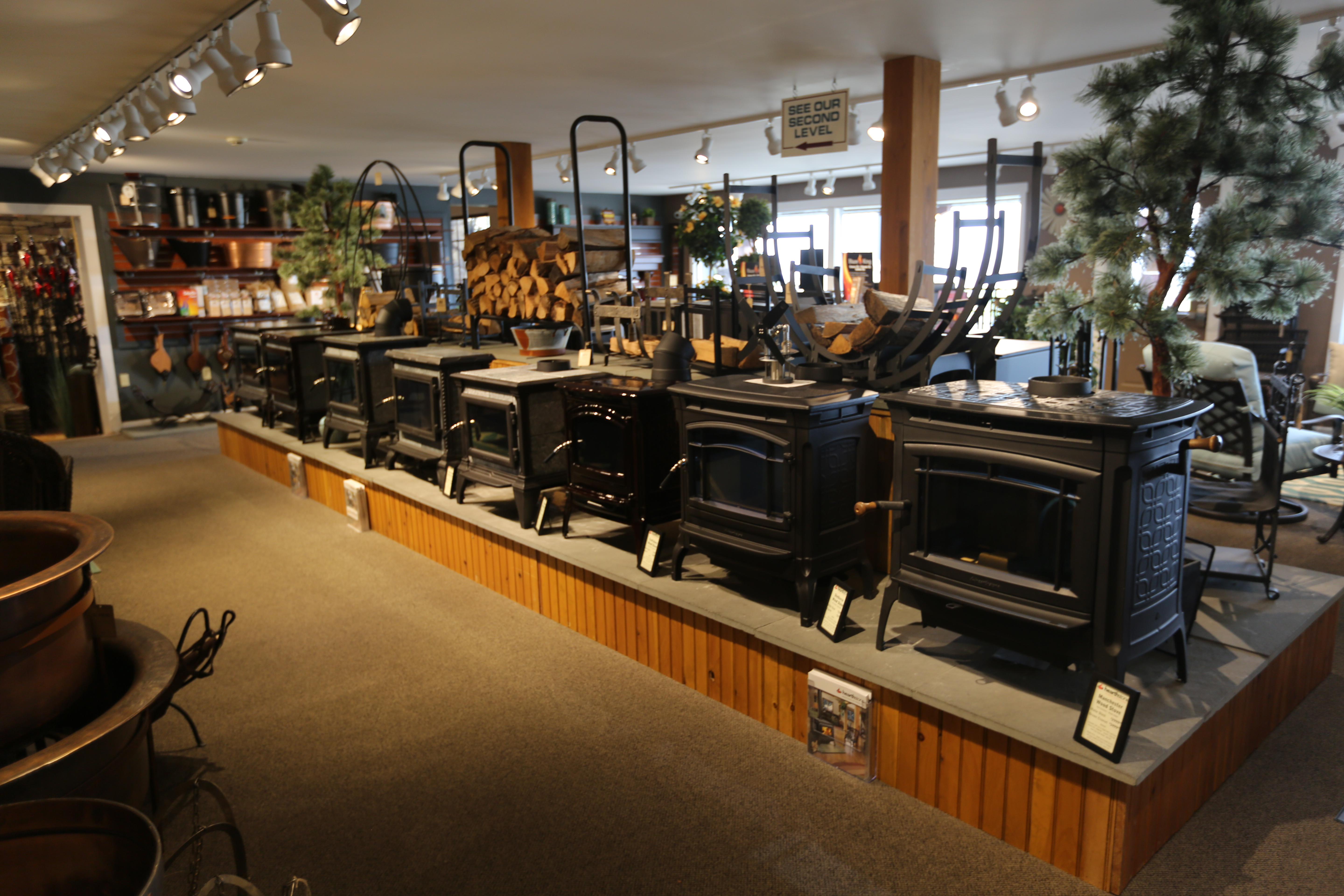 Bowman's Stove and Patio Showroom - 35