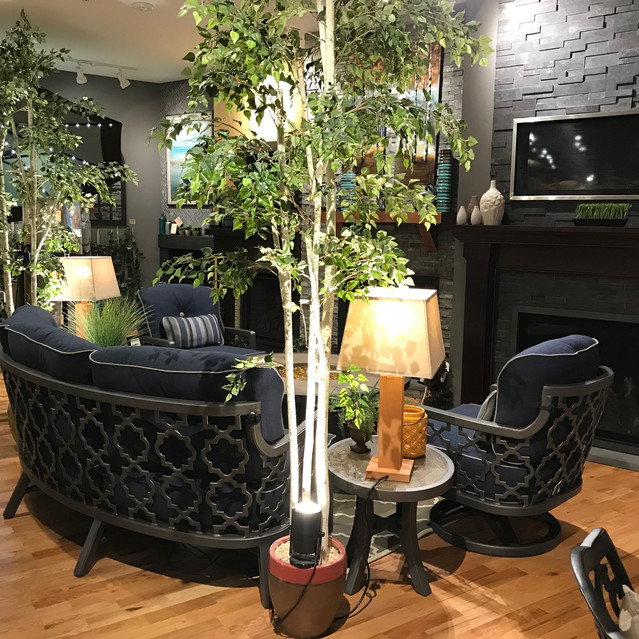 Castelle Belle Epoque Crescent Sofa Set