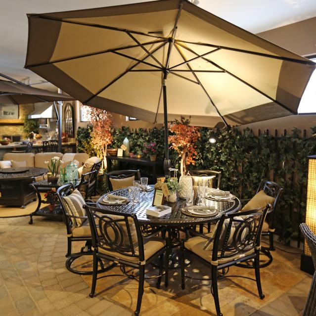 Gensun Bel Air 66 Round Dining