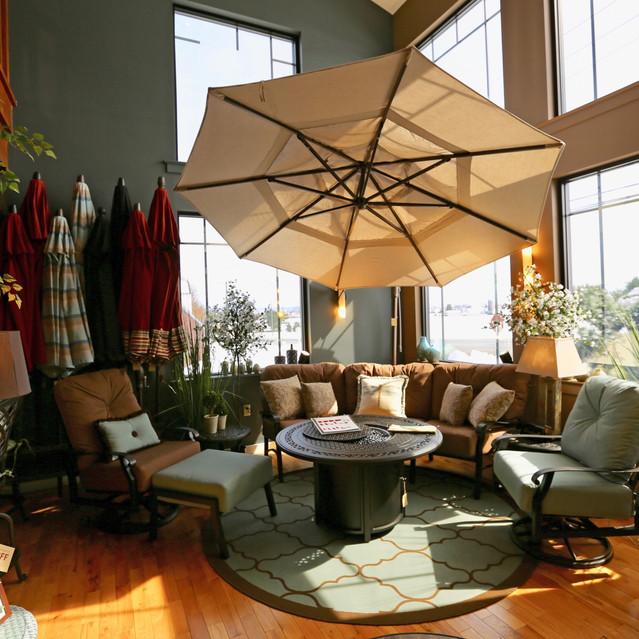 Woodard Cortland Crescent Sofa