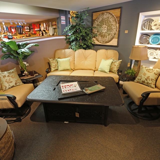 Woodard Cortland Cushion Sofa Set