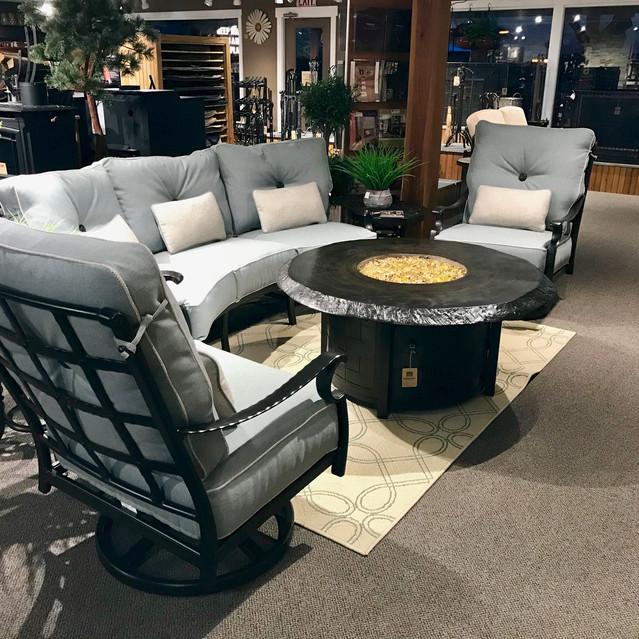 Castelle Monterey Crescent Sofa Set