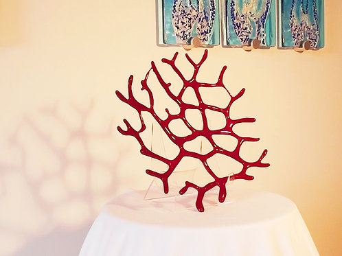 Red Coral Sculpture (c) Darrell Ryan