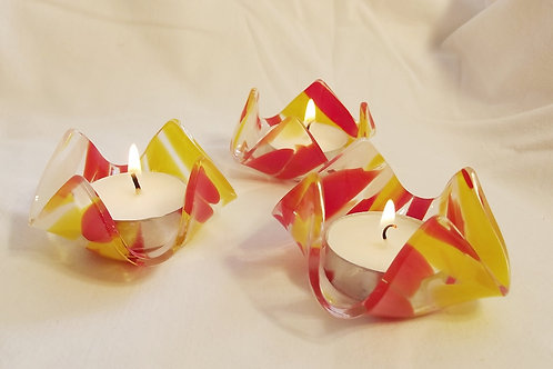 """Firelight"" Candle bowl Set of 3"