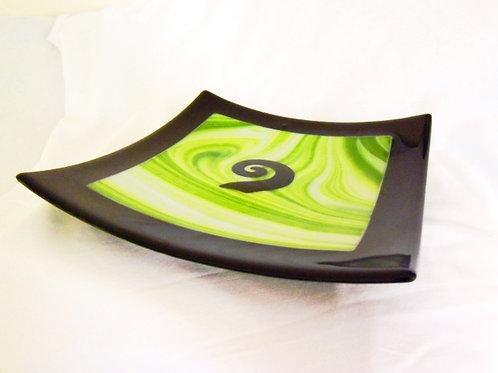 Koru Green platter