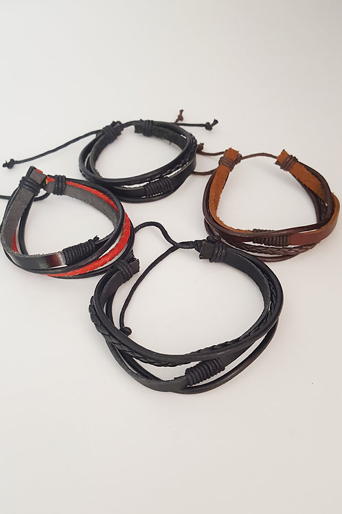 Wholesale - Leather Wristbands