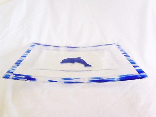 Dolphin Serving Platter