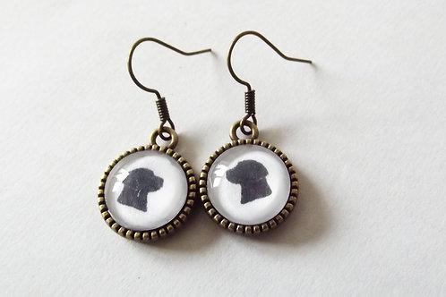 Labrador Dog Earrings