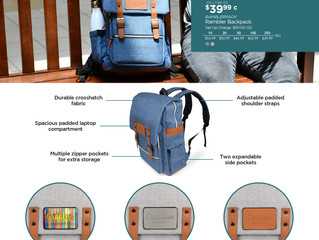 Introducing the New Rambler Backpack