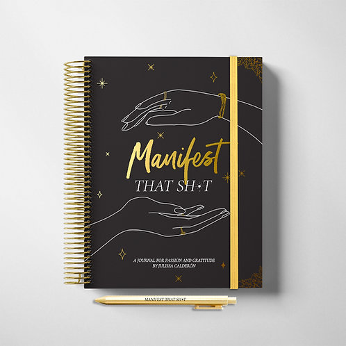 MANIFEST Journal and Pen