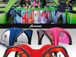 Stand Out at your next Event! - Custom Inflatable Canopy Tents