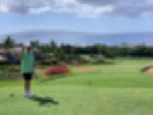 Ted1, Wailea Blue Course, Maui, Jan 2020